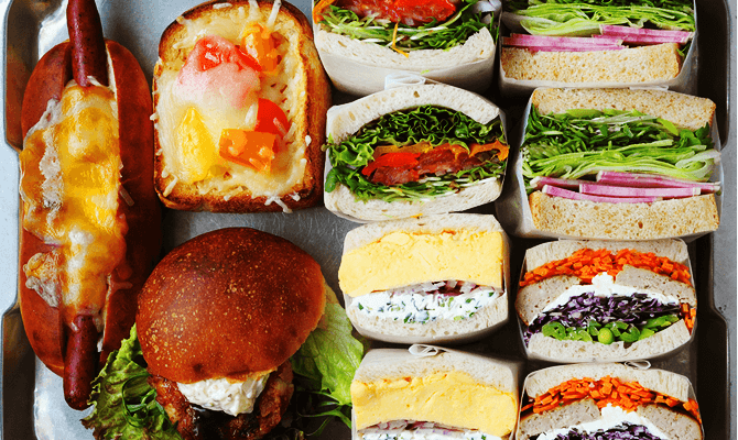nature(ナチュール)のサンドイッチ