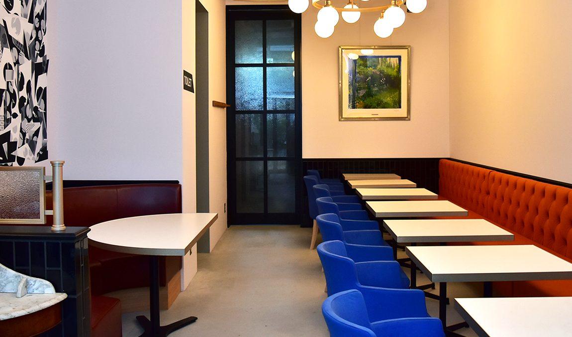 静岡のパン屋ナチュールのカフェスペース