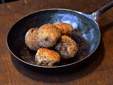 ナチュールのパン(天然酵母黒糖クルミボール)